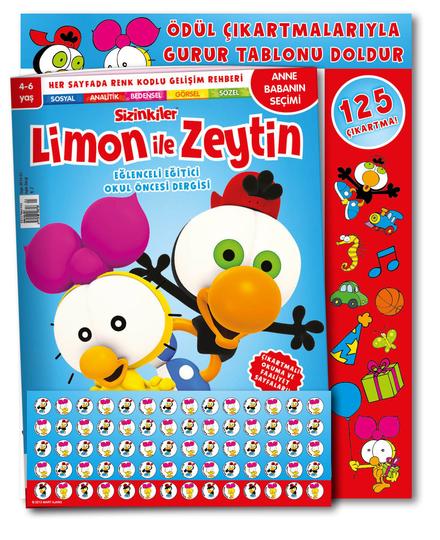 Limon ile Zeytin dergi